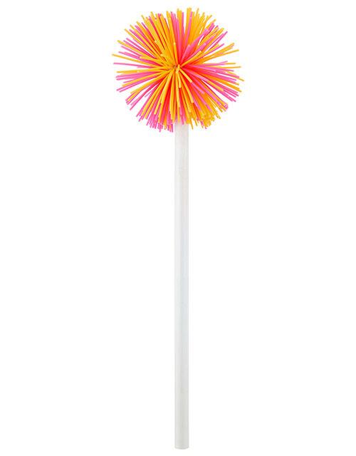 Zoe Zebra Pom-Pom Pencil, , large