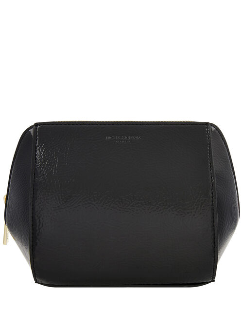 Patent Pouch Bag, Black (BLACK), large