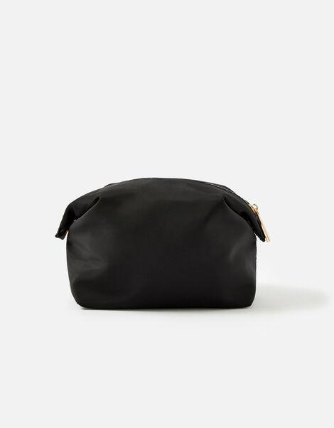 Nylon Pouch Black, Black (BLACK), large