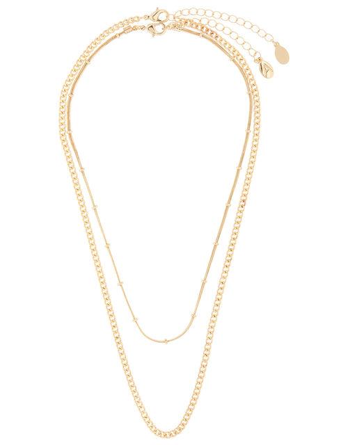 Chain Necklace Set, , large