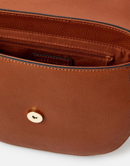 Nicola Saddle Cross-Body Bag , , large