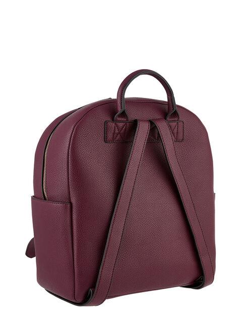 Nikki Dome Backpack, Red (BURGUNDY), large