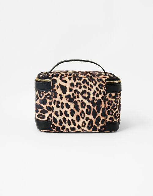 Square Lunch Box, Leopard (LEOPARD), large