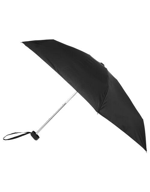 Plain Black Small Umbrella, , large