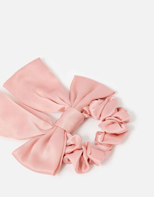 Large Silk Bow Scrunchie , , large