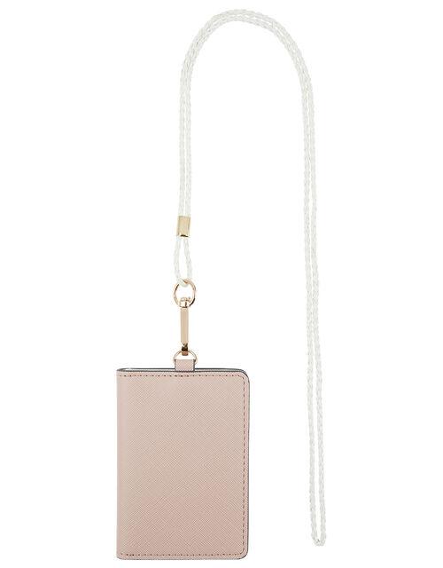 Lanyard Card Holder, Pink (PINK), large