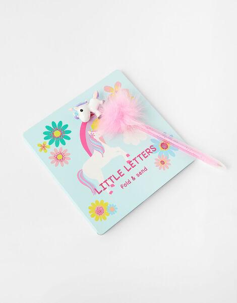 Fluffy Unicorn Pom-Pom Pen, , large