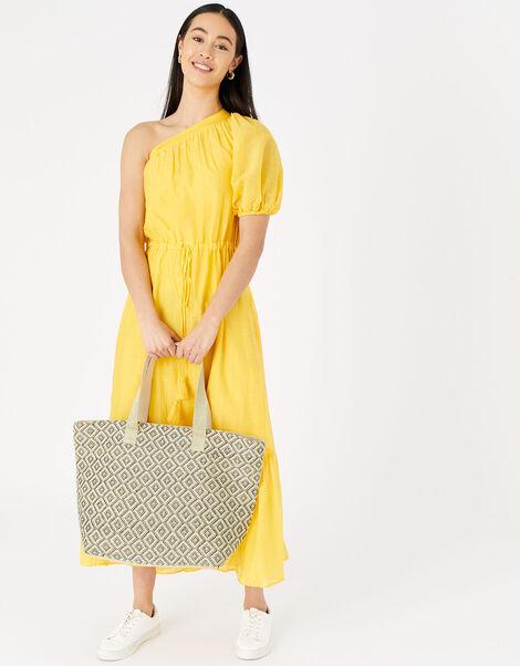 Diamond Weave Tote Bag, , large