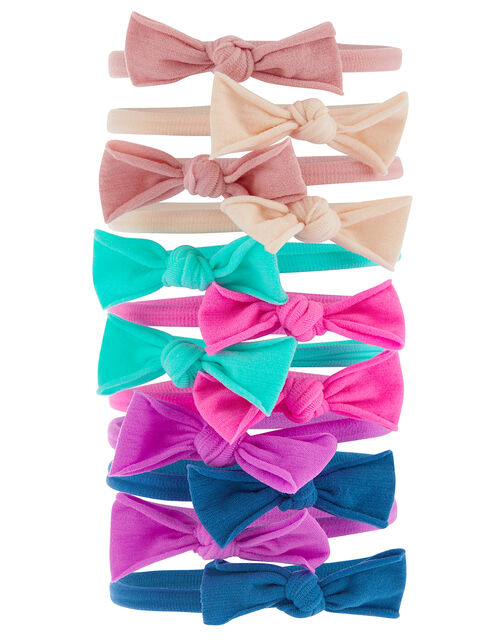 Mini Bow Hairband Multipack, , large