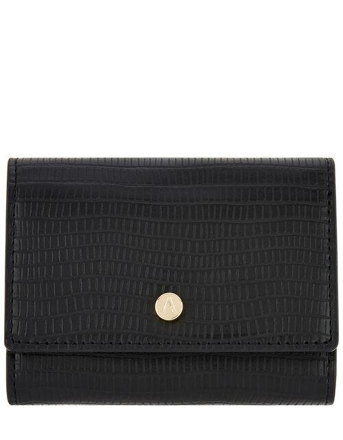 Reptile Tri-Fold Wallet, Black (BLACK), large