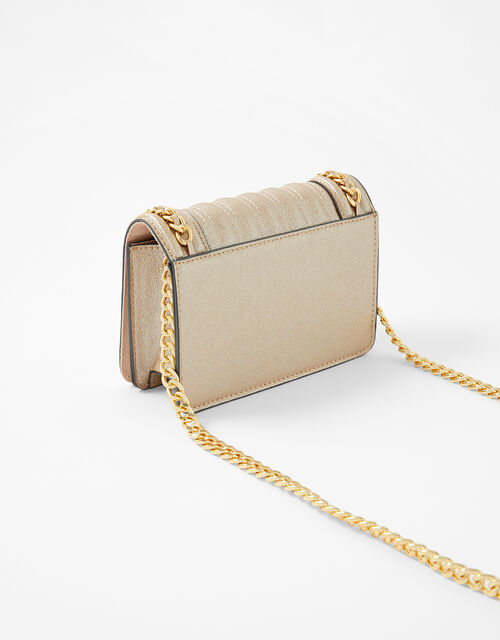 Chain Trim Bag, Gold (GOLD), large