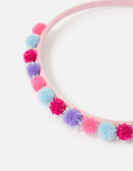 Pom-Pom Headband, , large