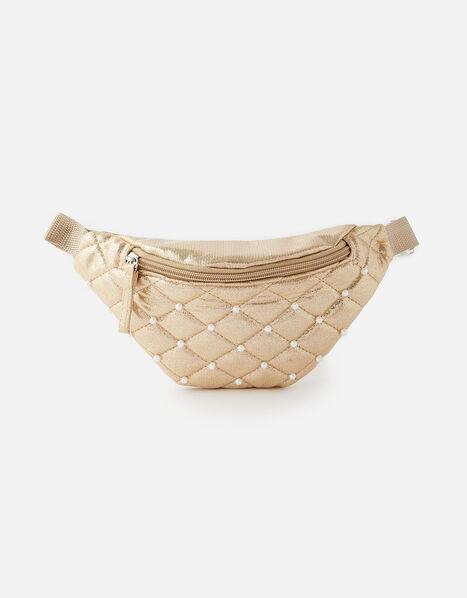 Quilted Belt Bag , , large