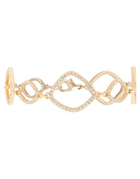 Sparkle Organic Shape Bracelet, , large