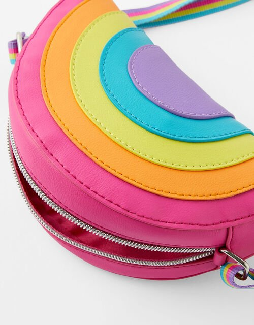 Rainbow Cross-Body Bag, , large