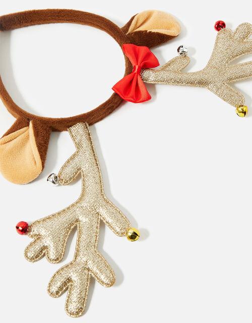 Glitter Padded Antler Headband , , large
