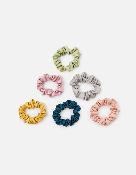 Metallic Velvet Scrunchie Multipack, , large