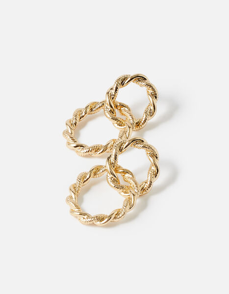 Country Retreat Twisted Loop Earring , , large