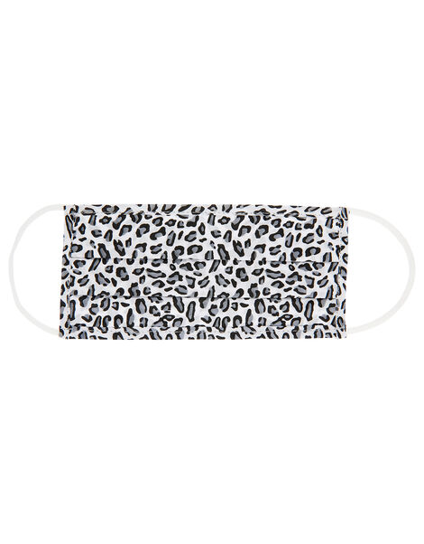 Face Covering in Pure Cotton Leopard, Leopard (LEOPARD), large