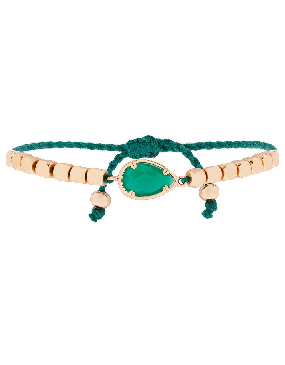 Stone and Bead Friendship Bracelet, , large