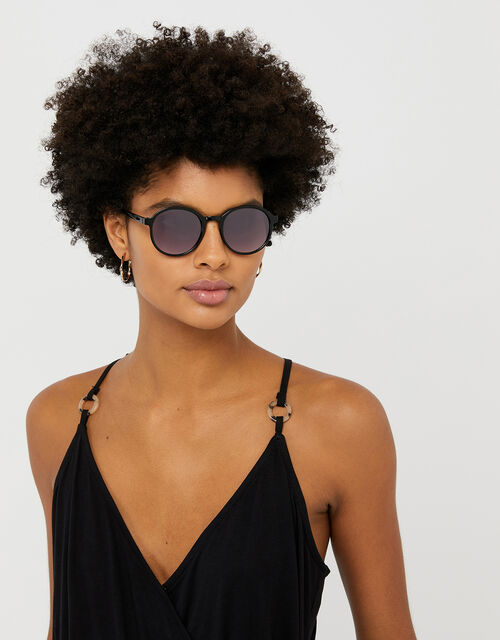 Romy Round Sunglasses, , large