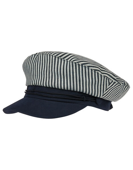 Nautical Stripe Cap, , large