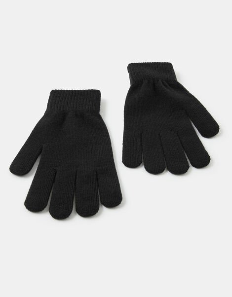Super-Stretchy Knit Gloves , , large