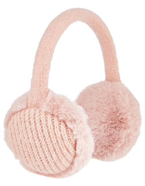 Faux Fur Earmuffs, , large