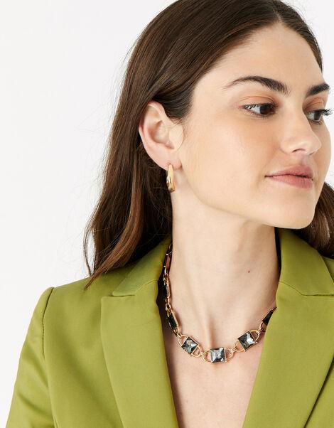 New Decadence Gem Collar Necklace, , large