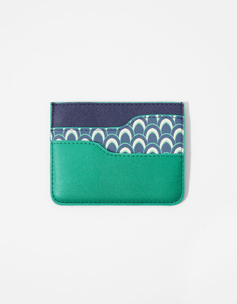 Geo Print Card Holder, , large