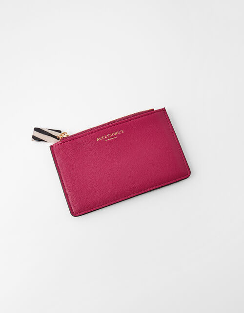 Cora Card Holder , Red (BERRY), large