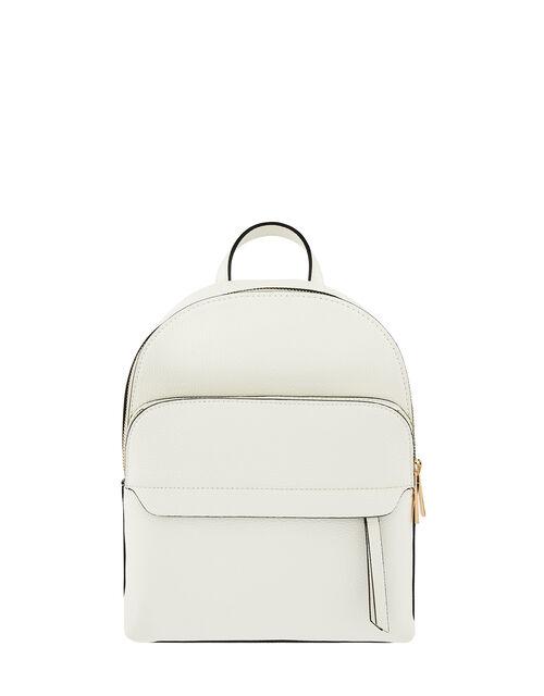 Henrietta Backpack, White (WHITE), large