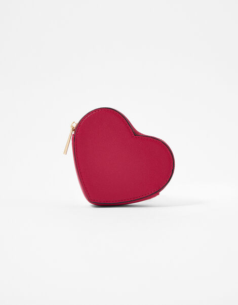 Valentine's Heart Purse Red, Red (BERRY), large