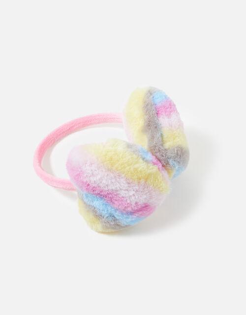 Stripe Heart Earmuffs , , large