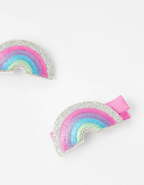 Rainbow Salon Hair Clips, , large