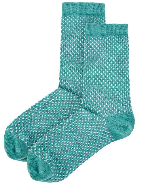 Glitter Popcorn Ankle Socks, , large