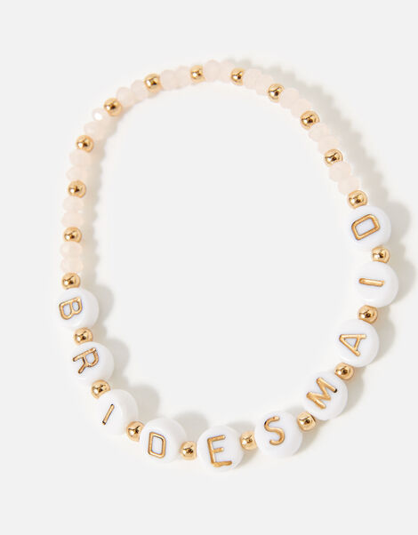 Bridesmaid Beaded Bracelet, , large