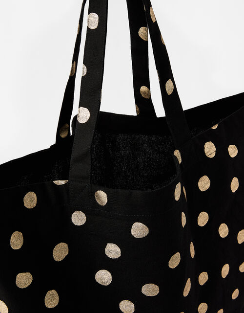 Polka Dot Shopper Bag, , large