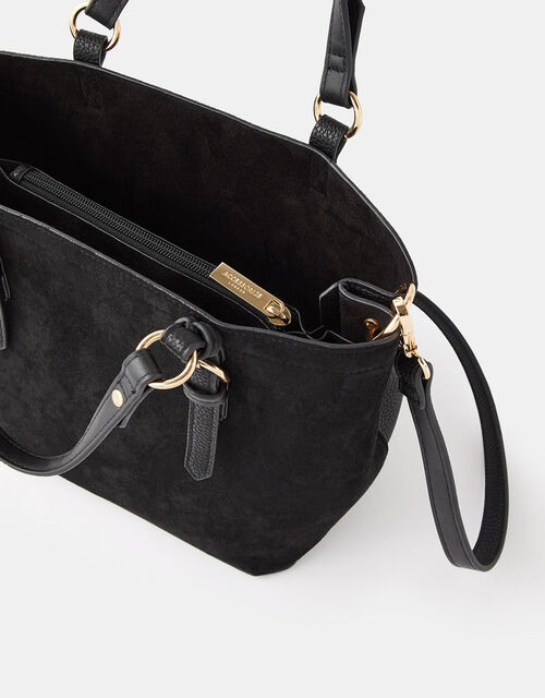 Betty Handheld Bucket Bag, Black (BLACK), large