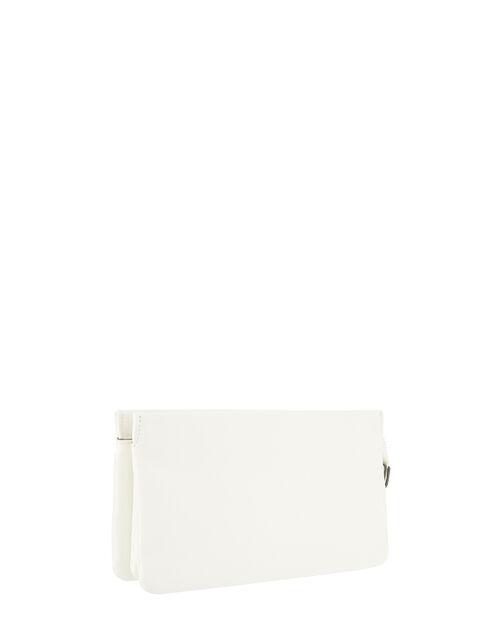 Kerry Cross-Body Bag, White (WHITE), large
