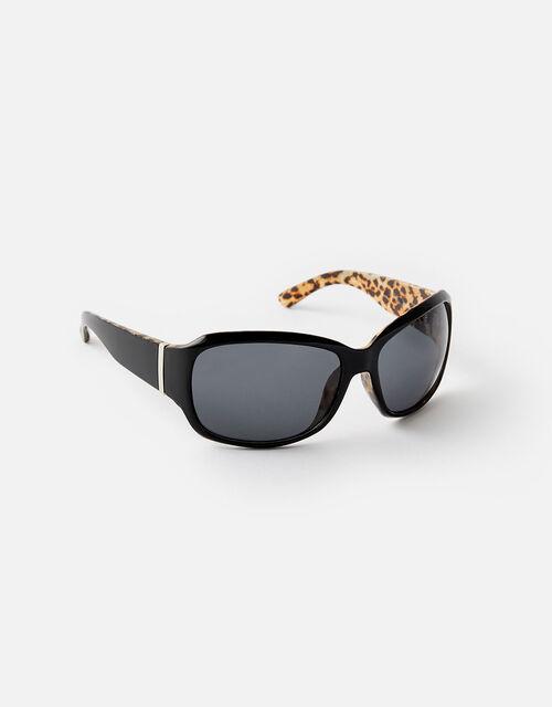 Whitney Leopard Sunglasses, , large