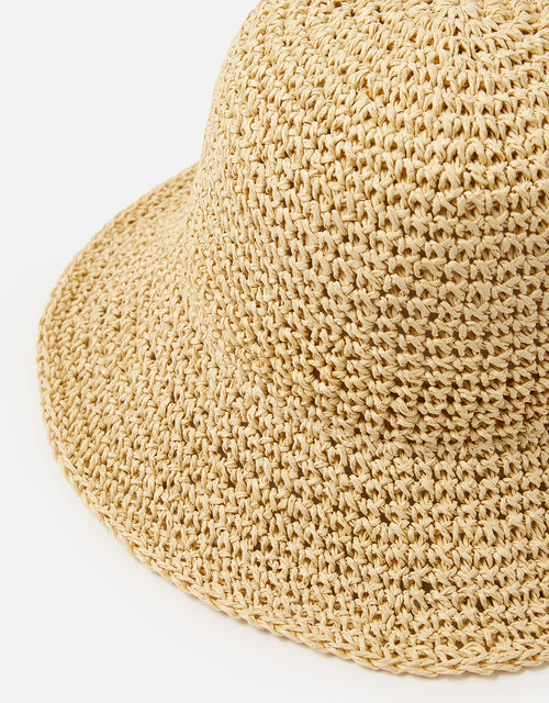 Sally Straw Bucket Hat , , large