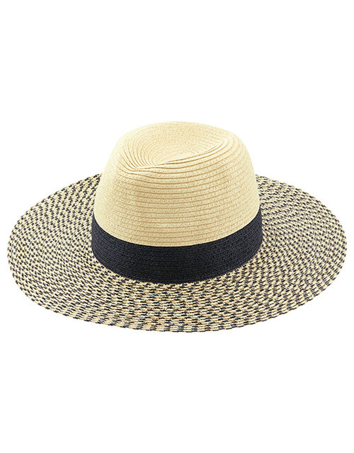 Portofino Fedora Hat, Blue (NAVY), large