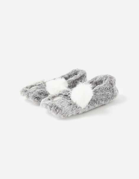 Koala Slippers Grey, Grey (GREY), large