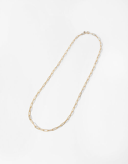 Gold-Plated Long Wrap-Around Necklace, , large