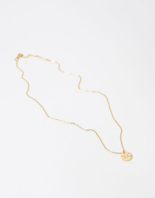 Gold Vermeil Constellation Necklace - Virgo, , large