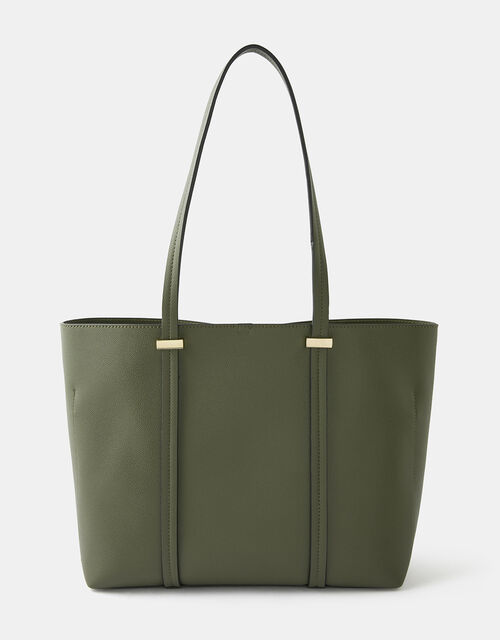 Ali Tote Bag, Green (KHAKI), large