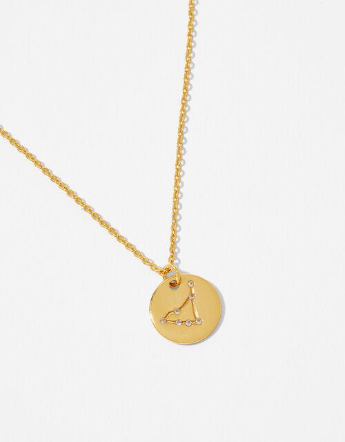 Gold Vermeil Constellation Necklace - Capricorn, , large