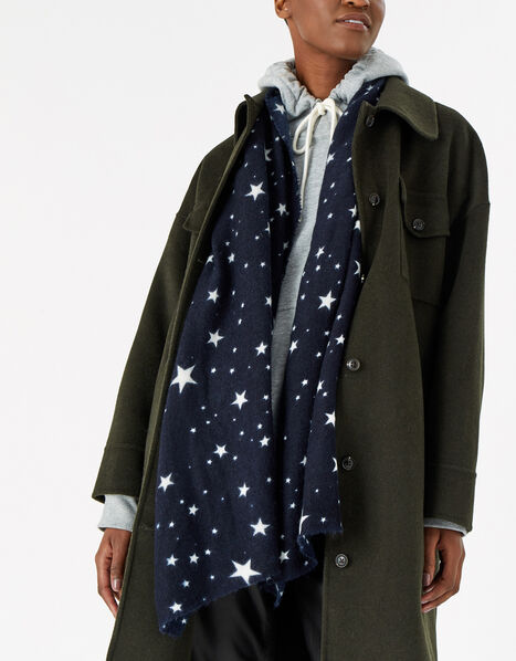 Twinkle Star Supersoft Blanket Scarf, , large