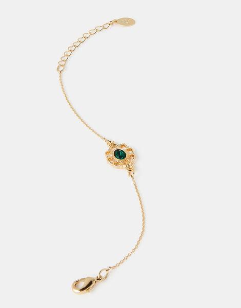 Filigree Emerald Bracelet, , large